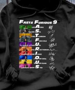 Fast & Furious Anniversary 9 Years Signature Shirt Hoodie
