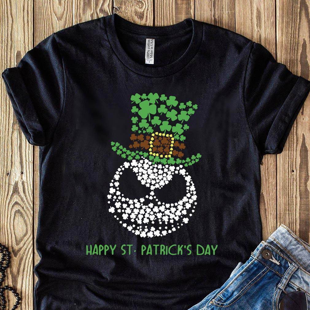 Jack Skellington Happy St Patrick's Day Shirt