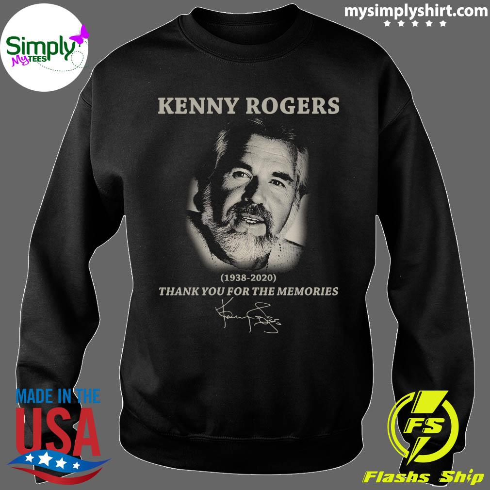 Kenny Rogers Thank You For The Memories Signatures Shirt Sweater