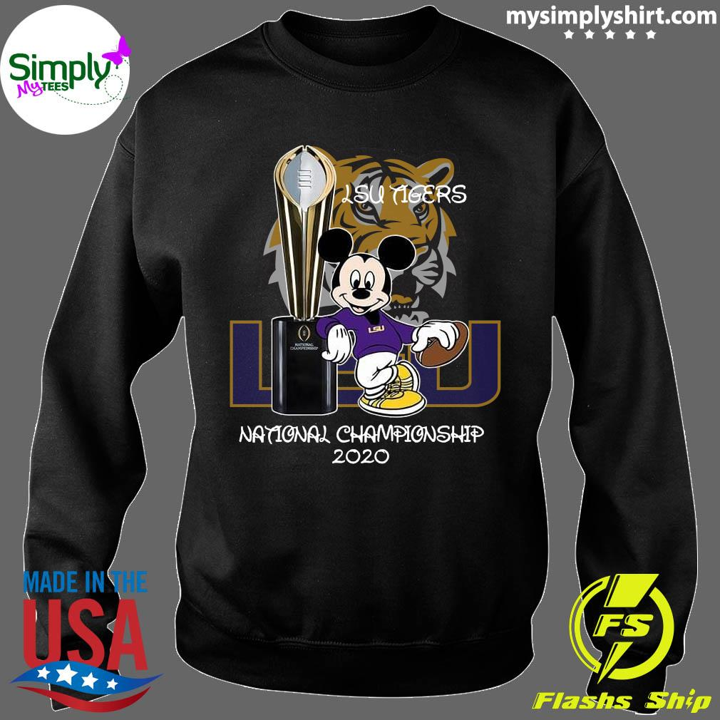Mickey Mouse Lsu Tigers National Championship 2020 Shirt Sweater