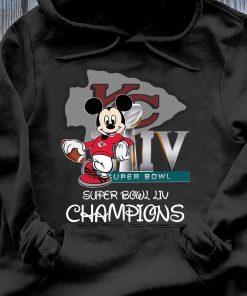 Mickey Mouse Super Bowl Liv Champions Shirt Hoodie