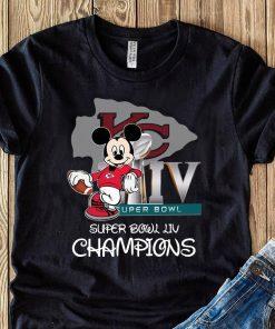 Mickey Mouse Super Bowl Liv Champions Shirt