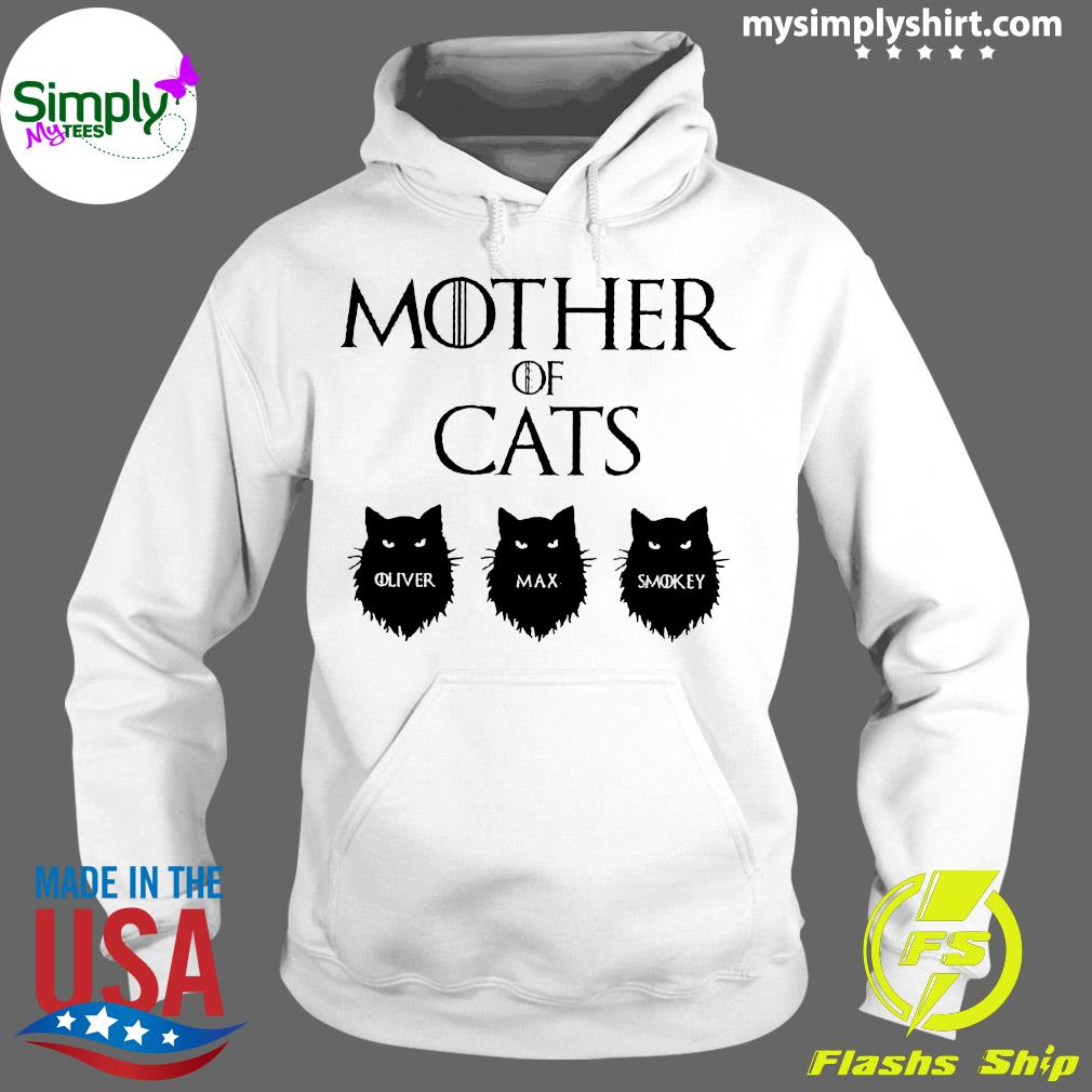 Mother Of Cats GOT Personalized Shirt Hoodie