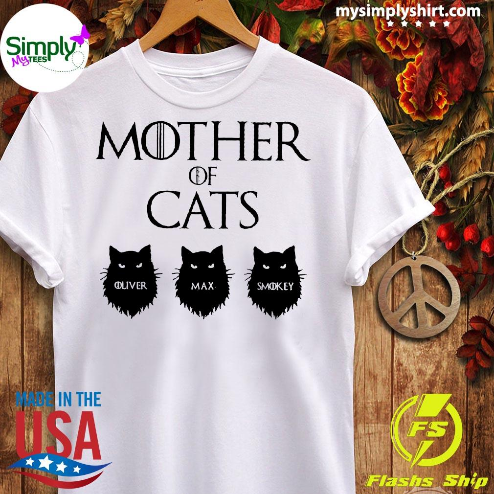 Mother Of Cats GOT Personalized Shirt Ladies tee