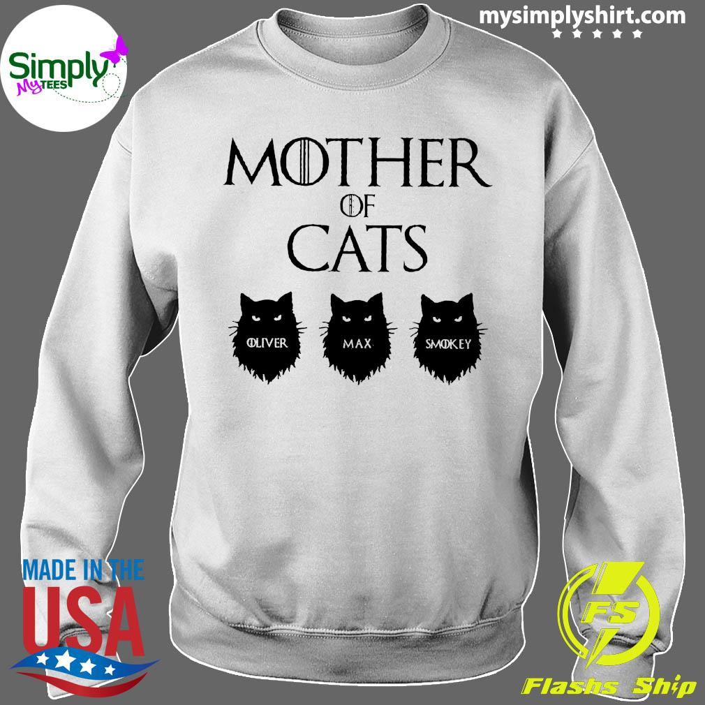 Mother Of Cats GOT Personalized Shirt Sweater