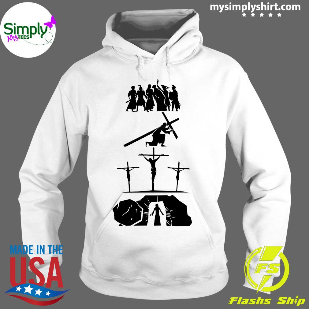 Passion Of Jesus Easter Sunday Shirt Hoodie