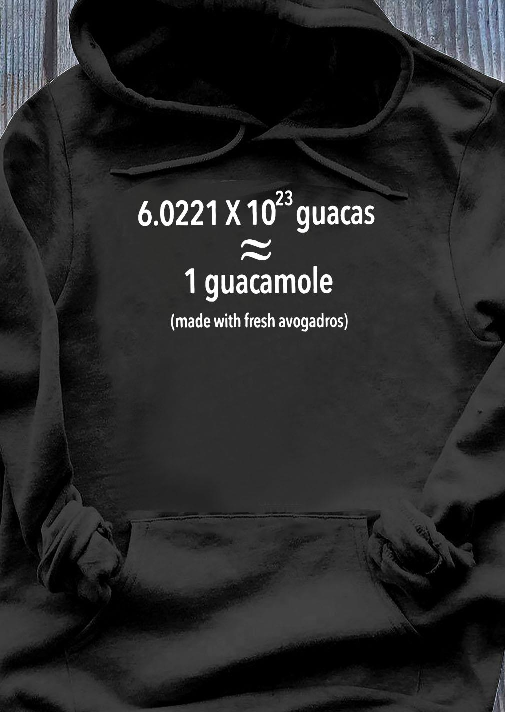 Science Made With Fresh Avogadros Shirt Hoodie