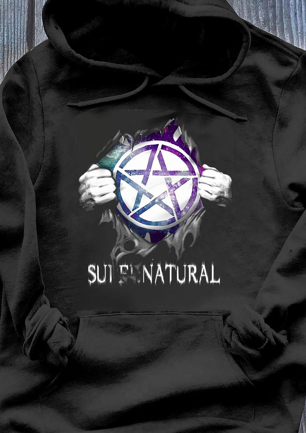 Supernatural Blood Inside Me Shirt Hoodie