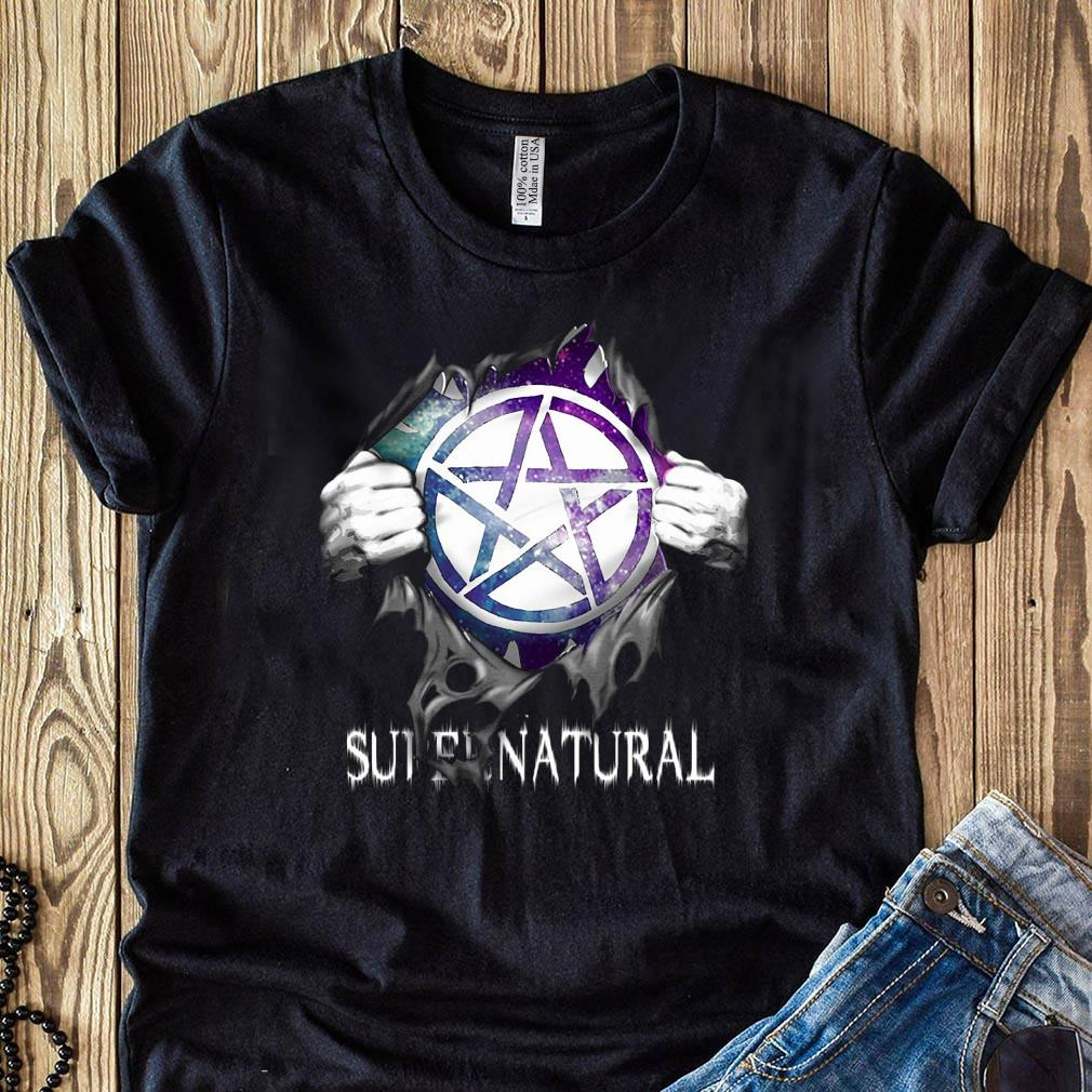 Supernatural Blood Inside Me Shirt