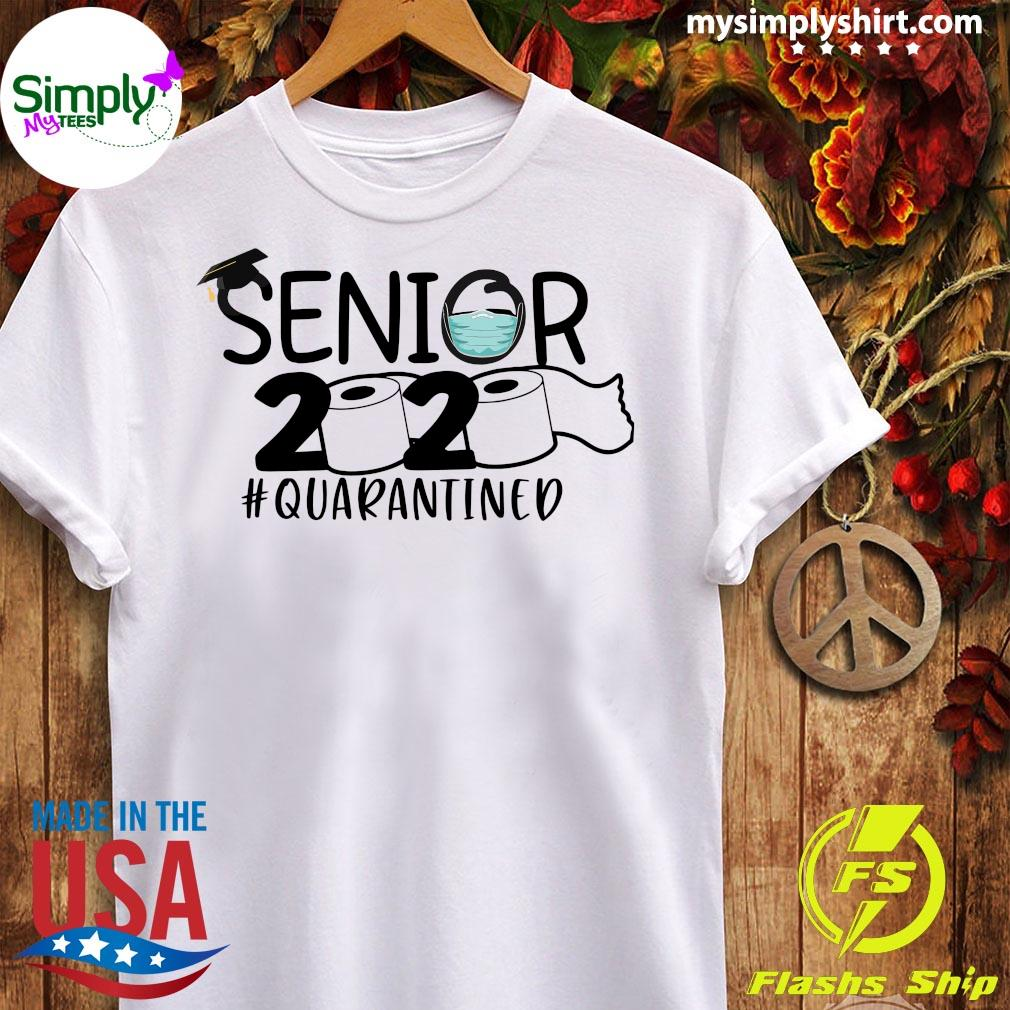 Toilet Paper Senior 2020 Quarantined Shirt Ladies tee