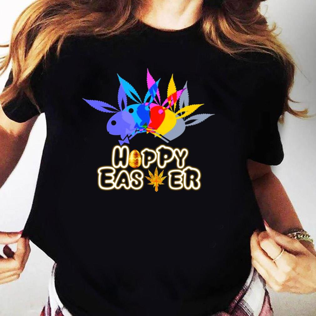 Color Happy Easter Shirt Ladies tee