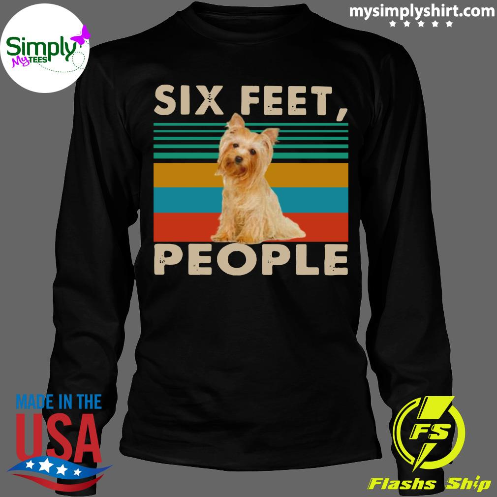 Dog Six Feet People Vintage Shirt Longsleeve