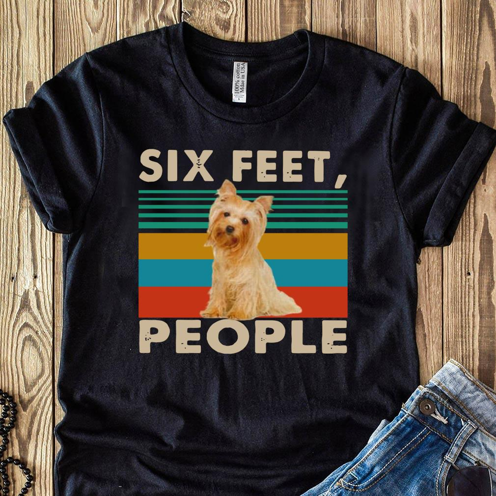 Dog Six Feet People Vintage Shirt