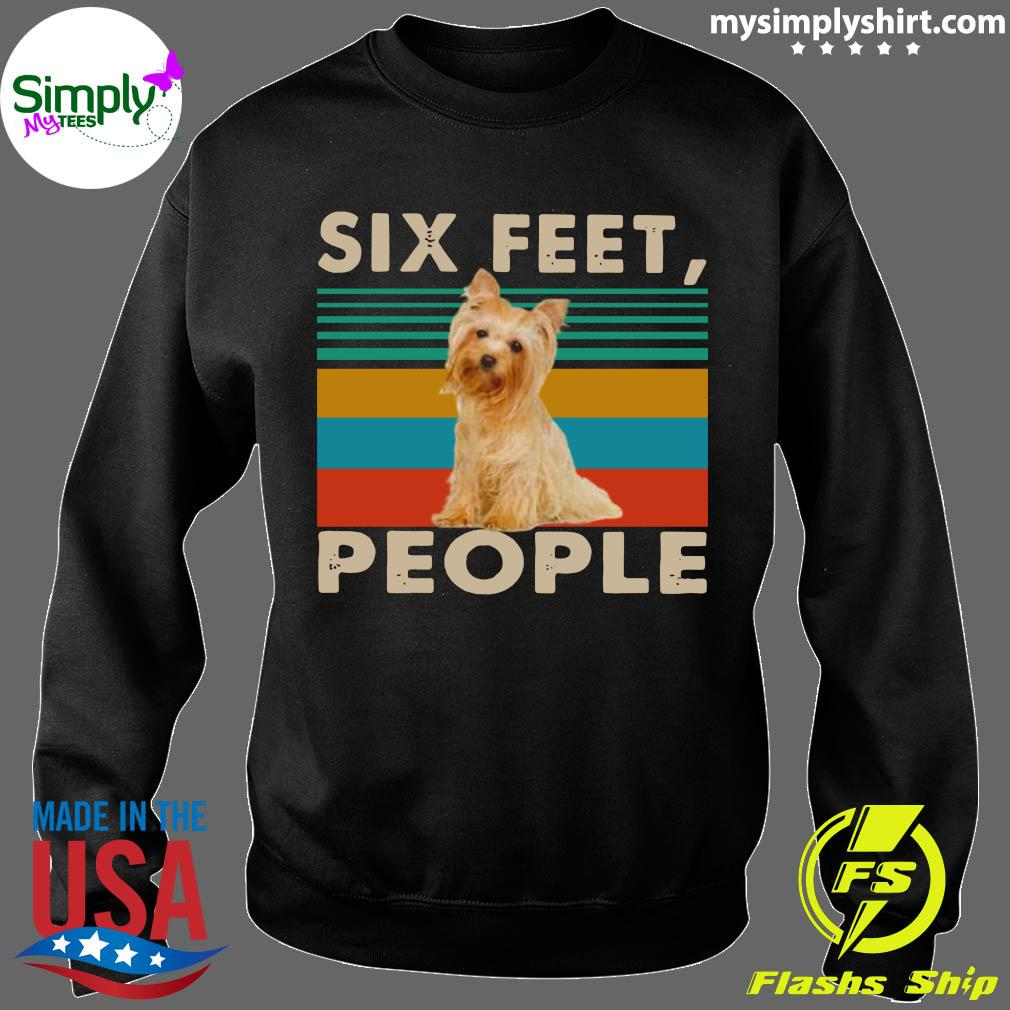 Dog Six Feet People Vintage Shirt Sweater