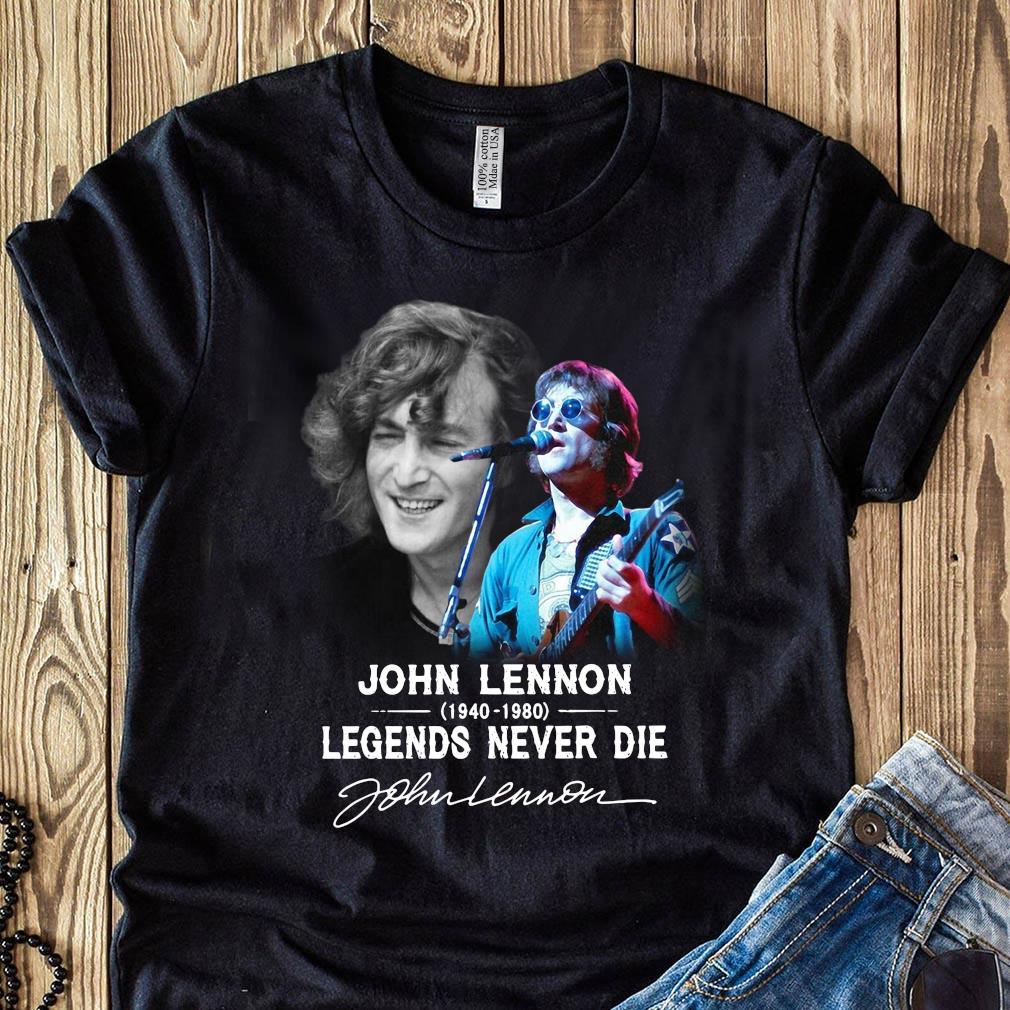 John Lennon 1940 2080 Legends Never Die Signature Shirt