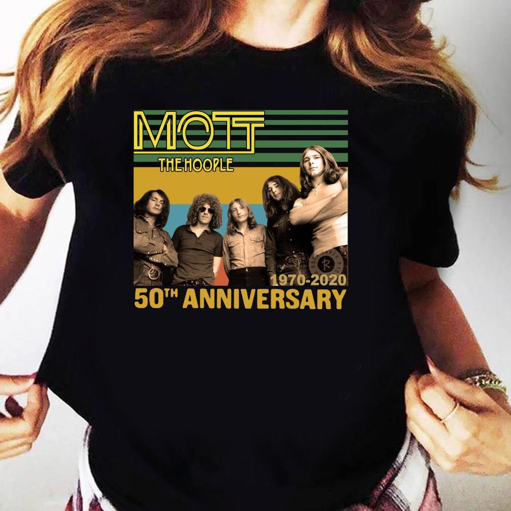 Mott The Hoople 1970-2020 50th Anniversary Shirt Ladies tee