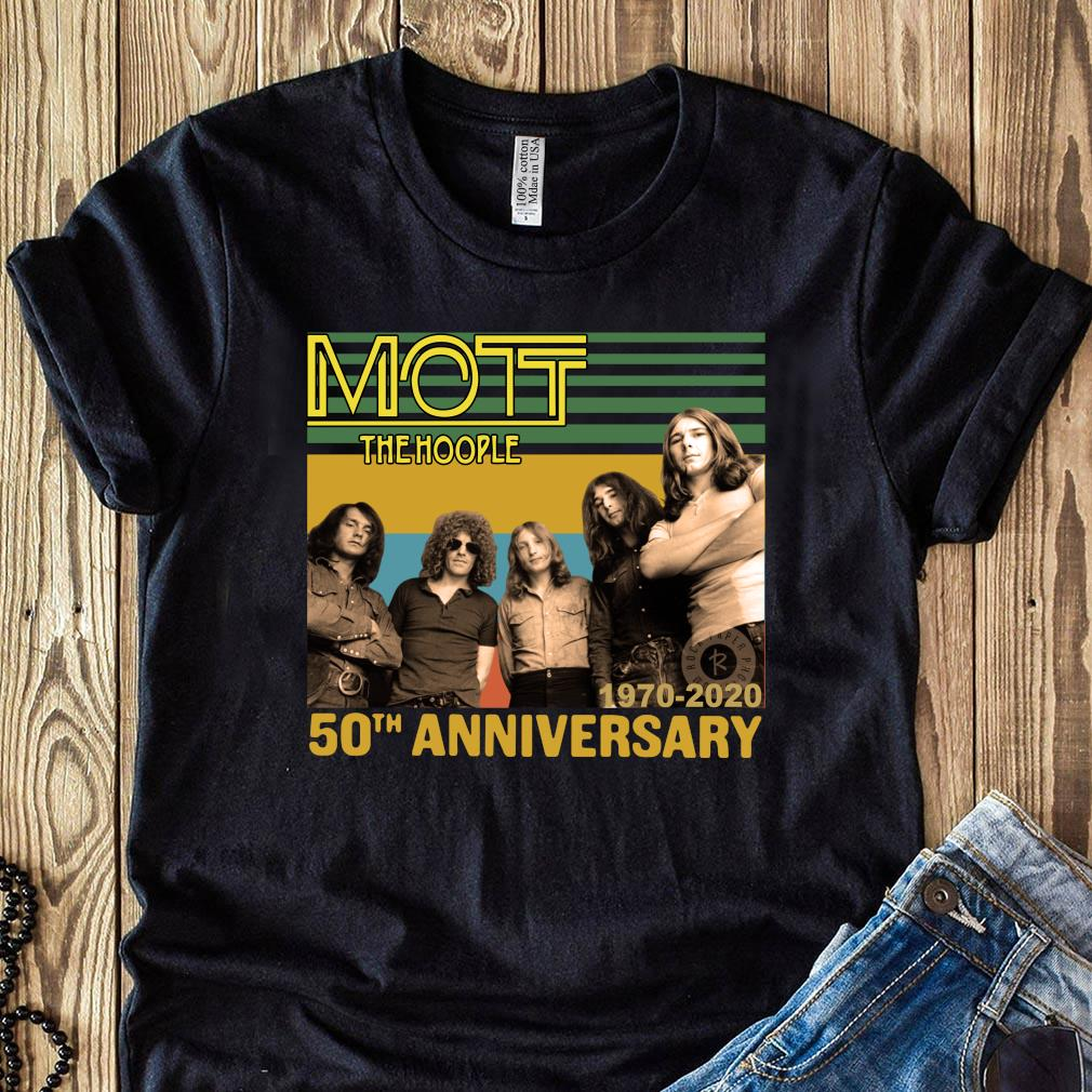 Mott The Hoople 1970-2020 50th Anniversary Shirt
