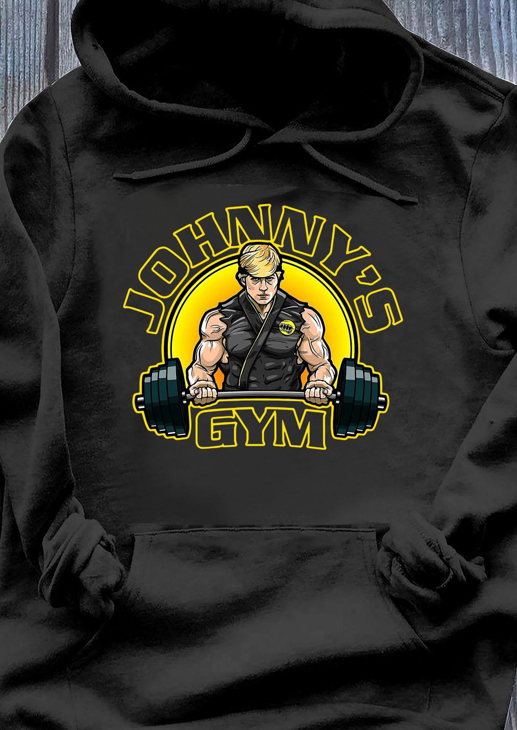 Official Johnny's Gym Shirt Hoodie