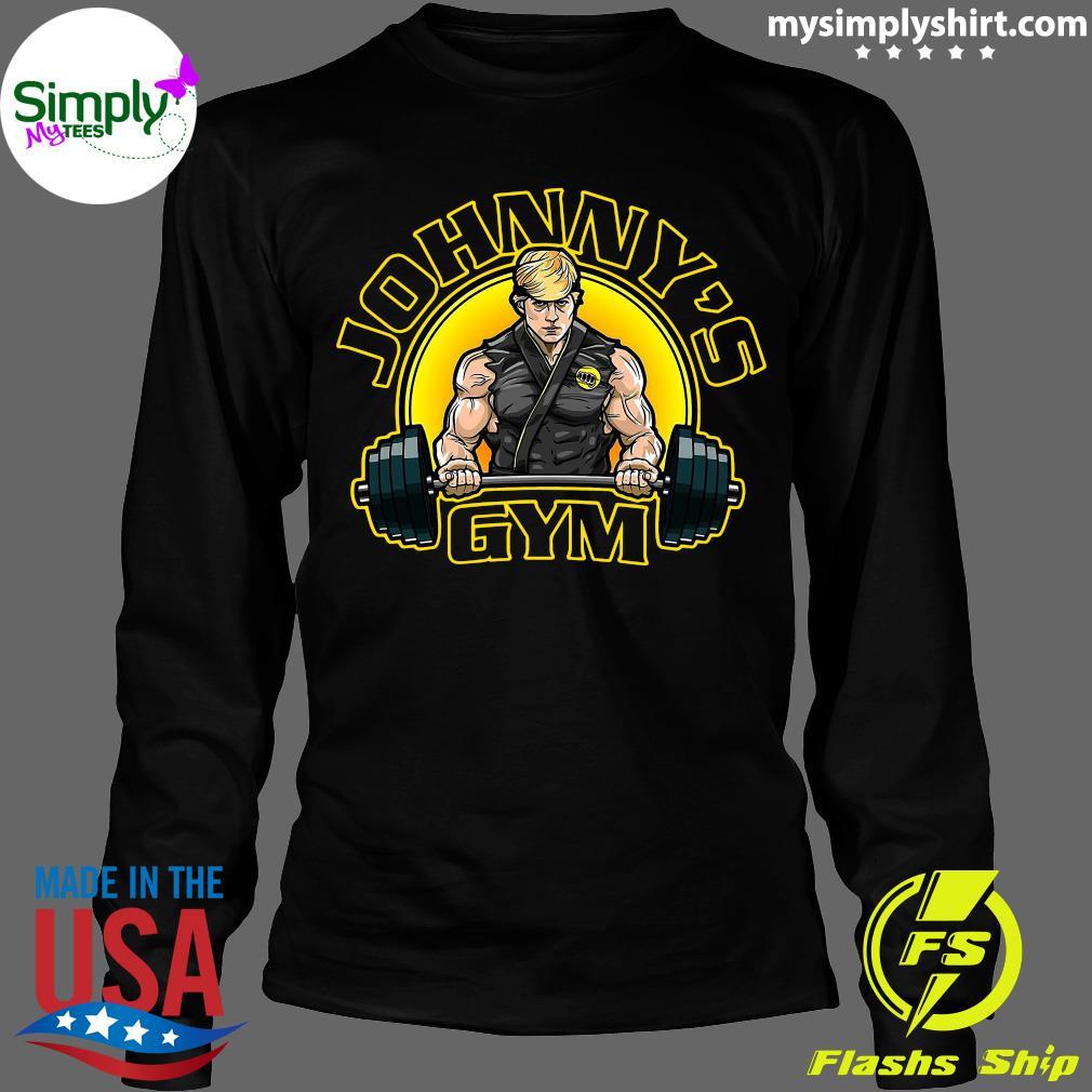 Official Johnny's Gym Shirt Longsleeve
