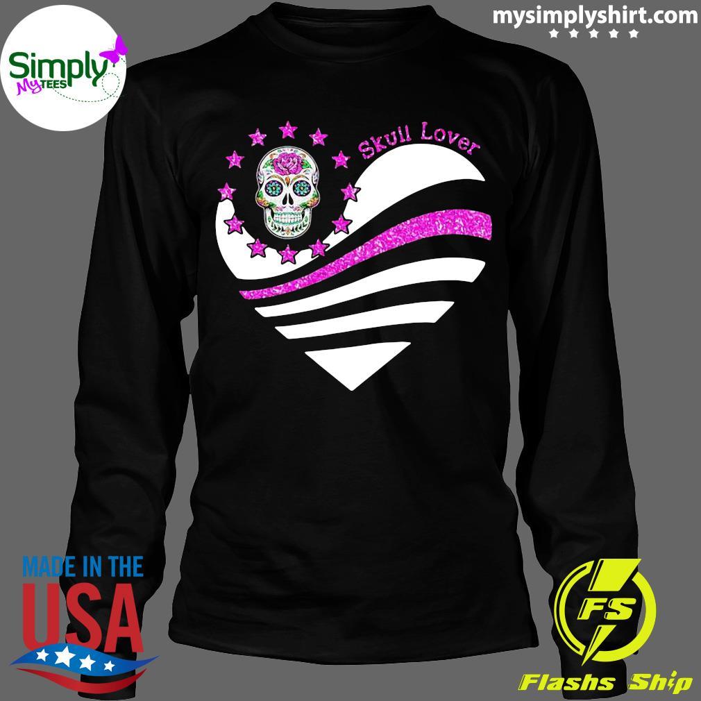 Skull Lover Heart Shirt Longsleeve