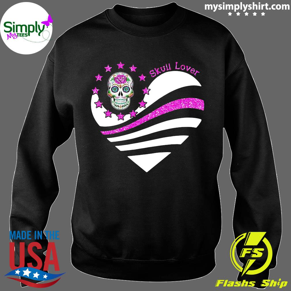 Skull Lover Heart Shirt Sweater