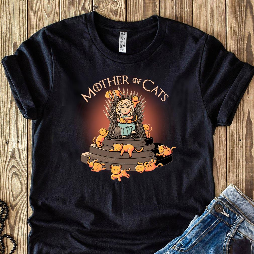 Top Daenerys Targaryen Mother Of Cats Game Of Thrones Shirt