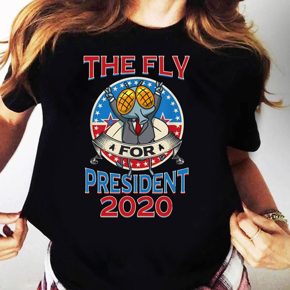 2020 Election Fly for President Political Design Shirt Ladies tee