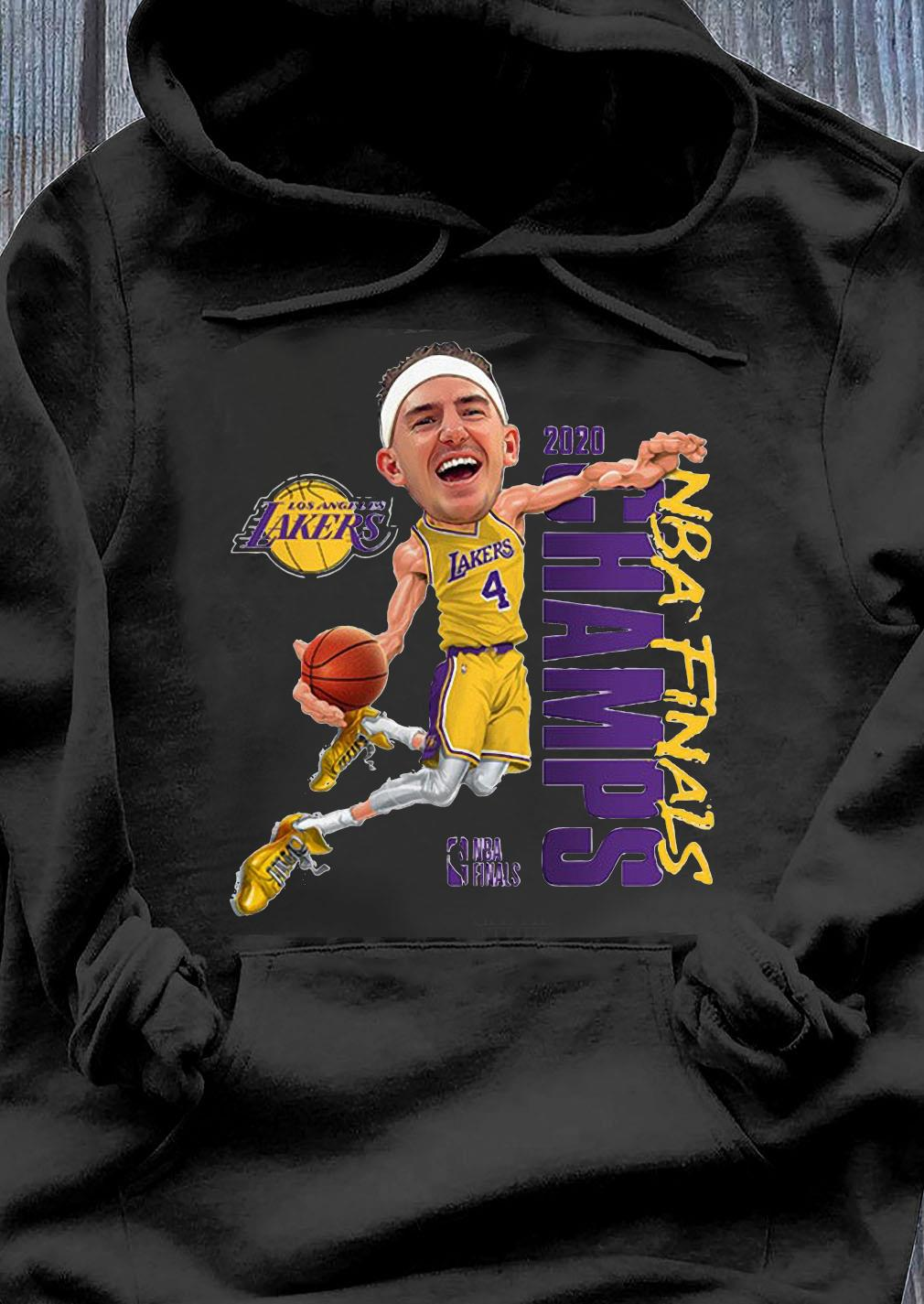Alex Caruso Los Angeles Lakers Champions 2020 Shirt Hoodie