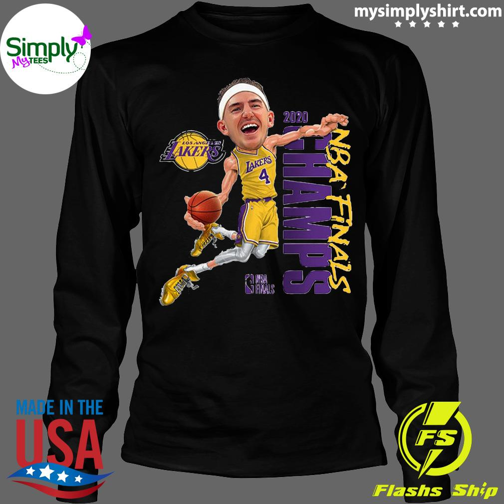 Alex Caruso Los Angeles Lakers Champions 2020 Shirt Longsleeve