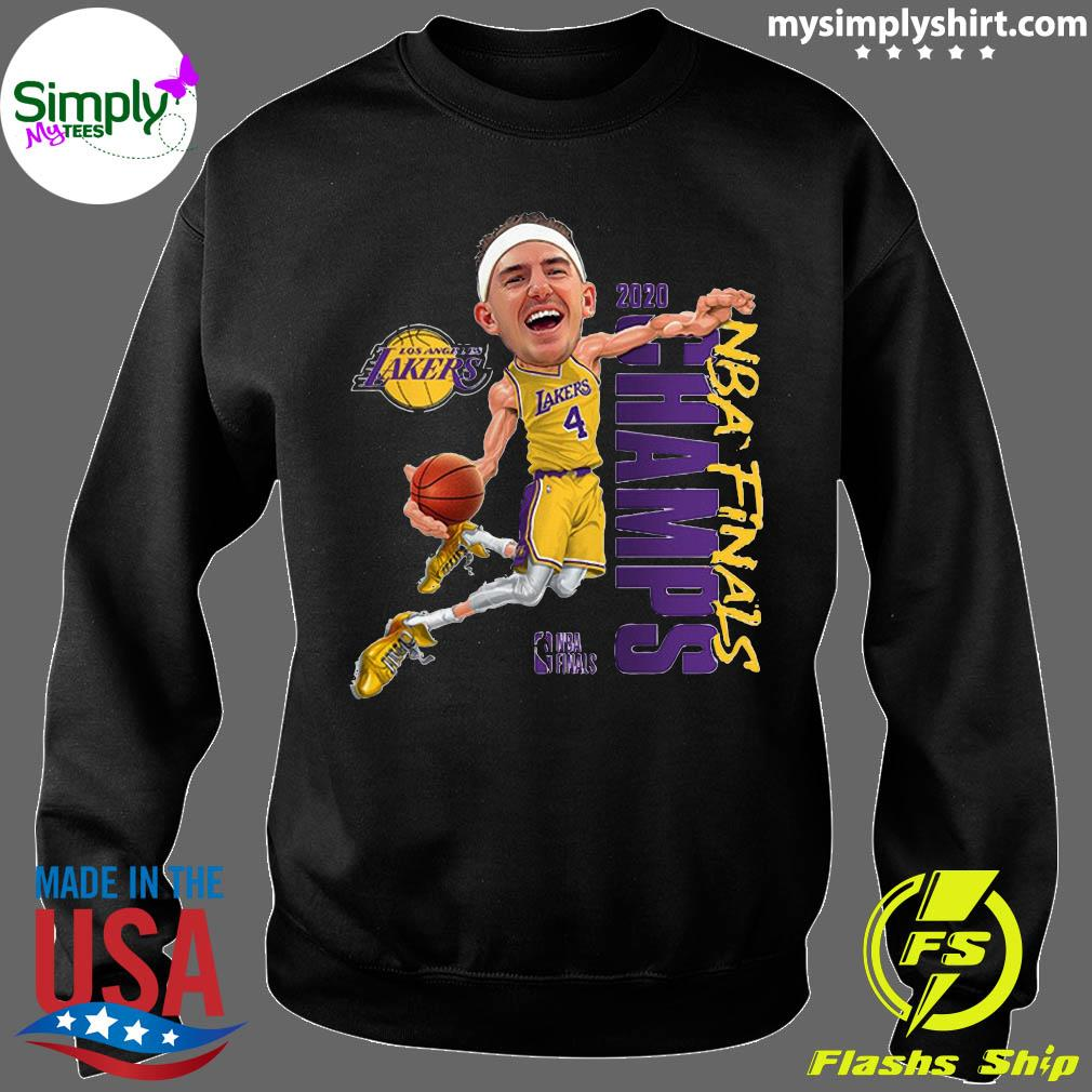 Alex Caruso Los Angeles Lakers Champions 2020 Shirt Sweater