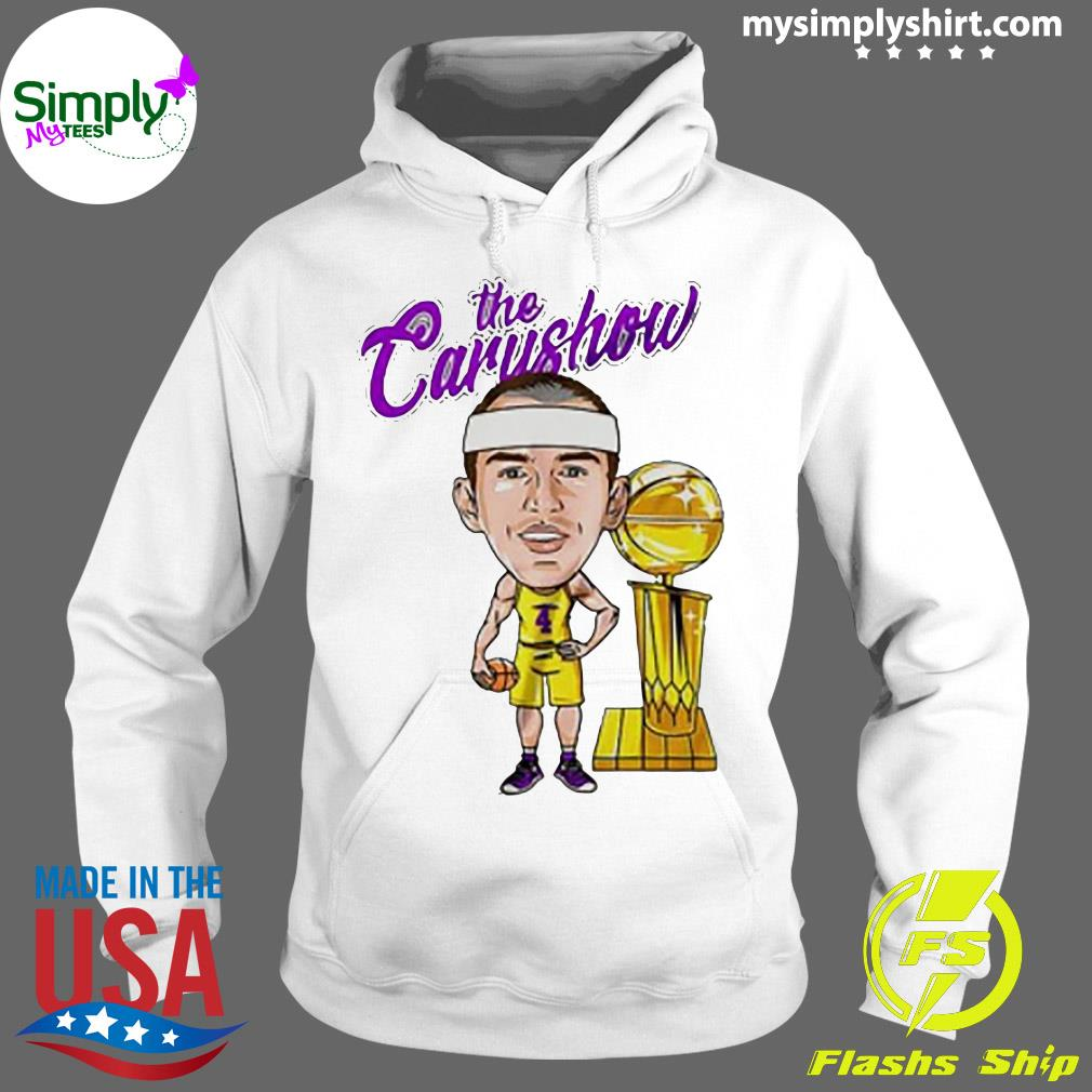 Alex Caruso The Carushow Championship Trophy Classic Shirt Hoodie