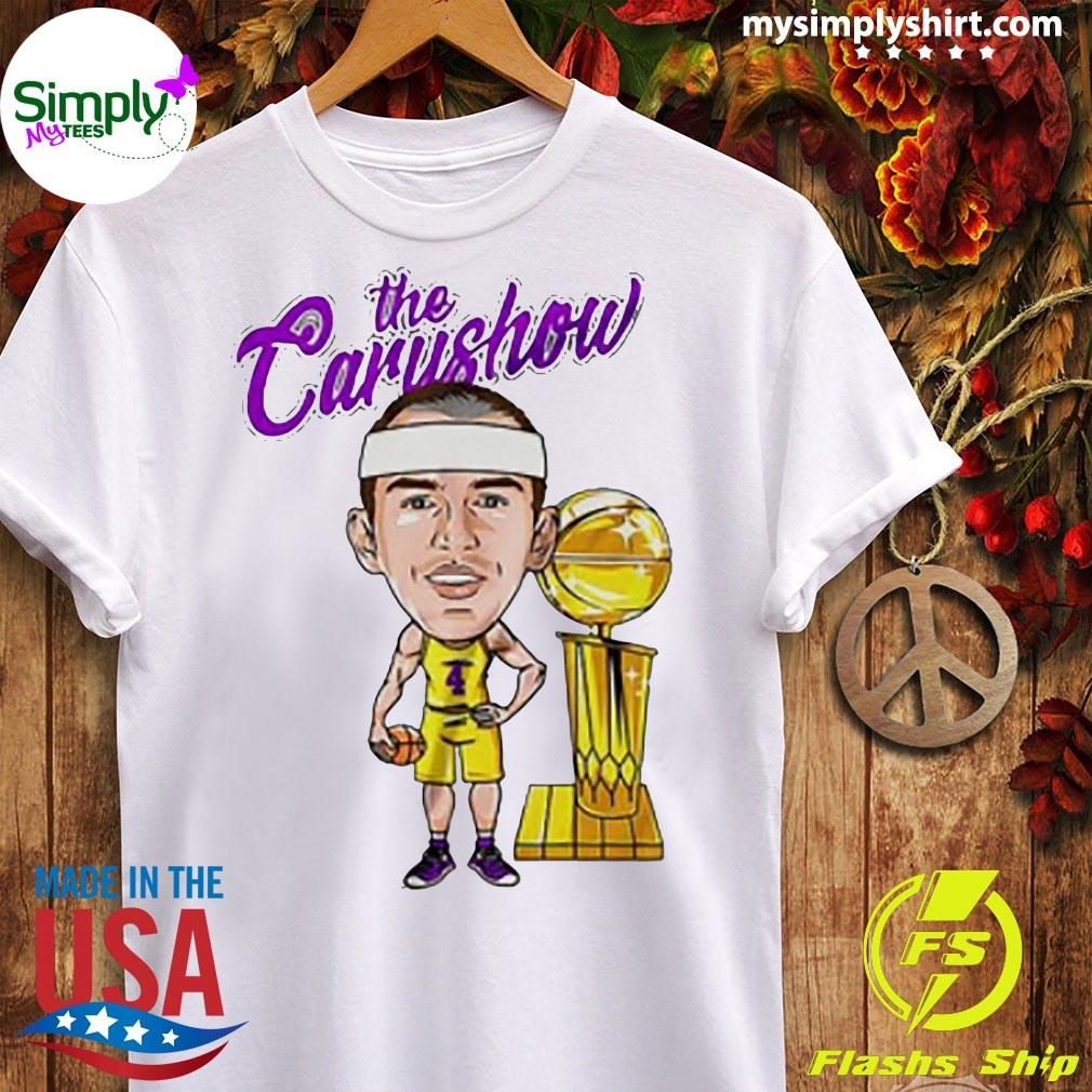 Alex Caruso The Carushow Championship Trophy Classic Shirt Ladies tee