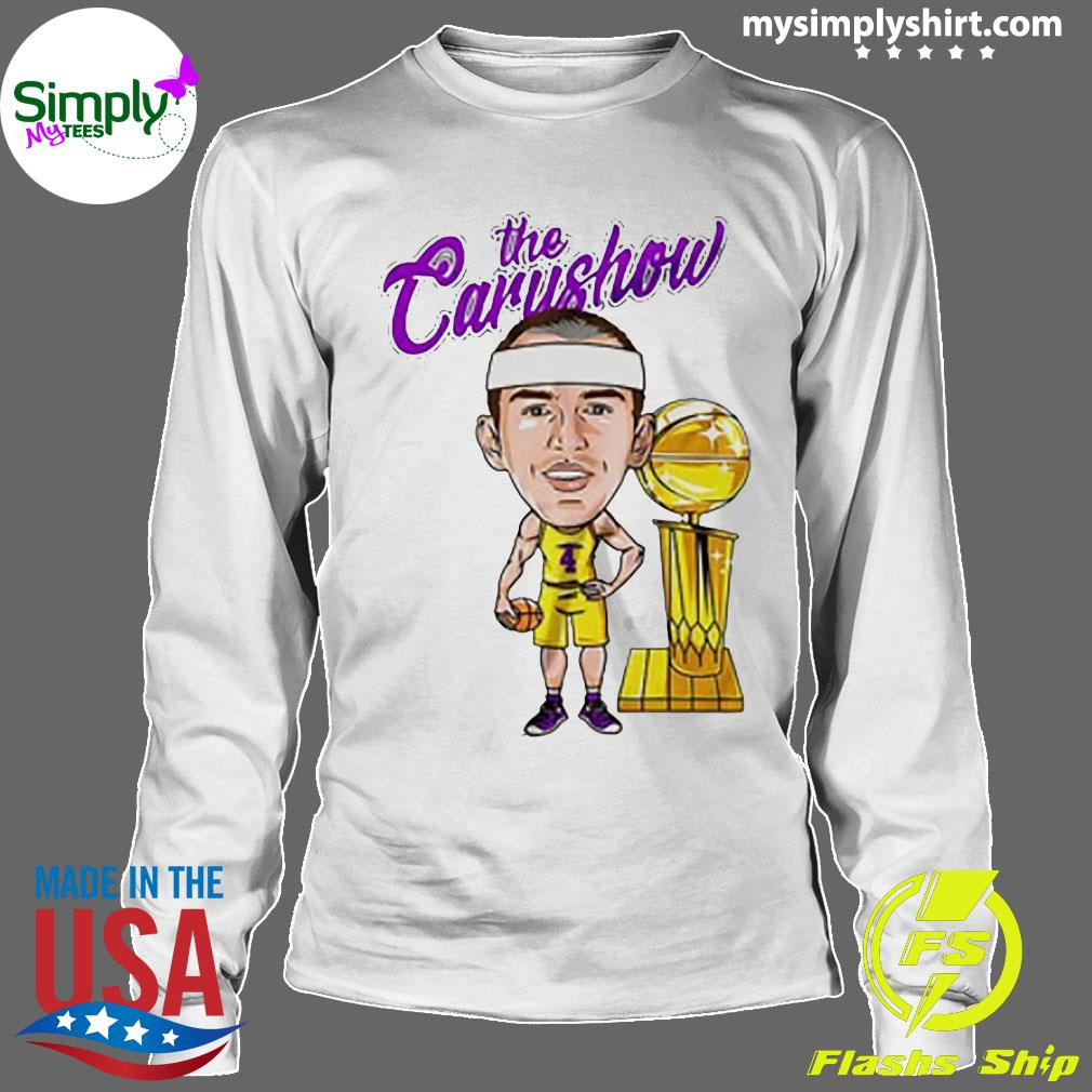 Alex Caruso The Carushow Championship Trophy Classic Shirt Longsleeve