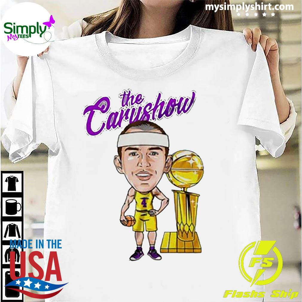 Alex Caruso The Carushow Championship Trophy Classic Shirt