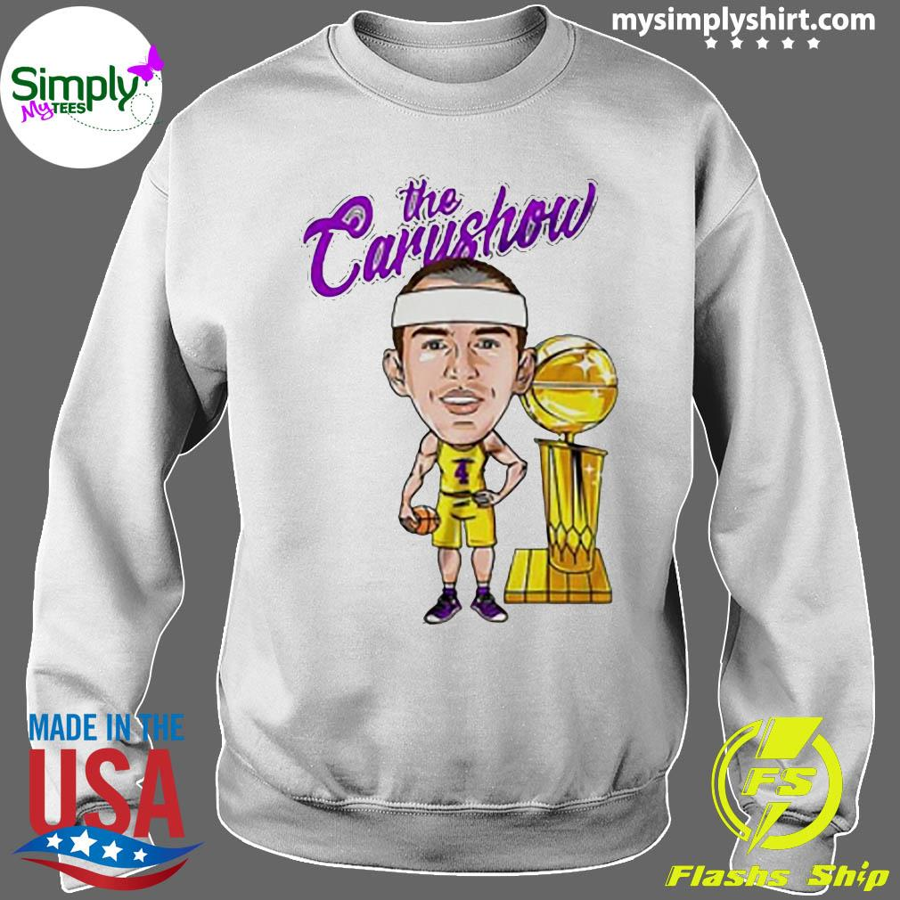 Alex Caruso The Carushow Championship Trophy Classic Shirt Sweater