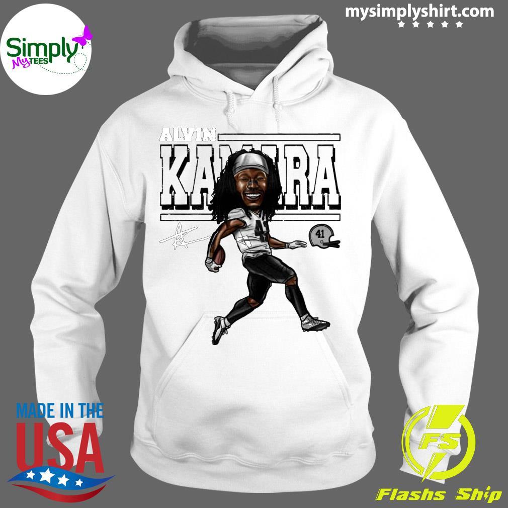 Alvin Kamara Cartoon New Orleans Football Signature Shirt Hoodie