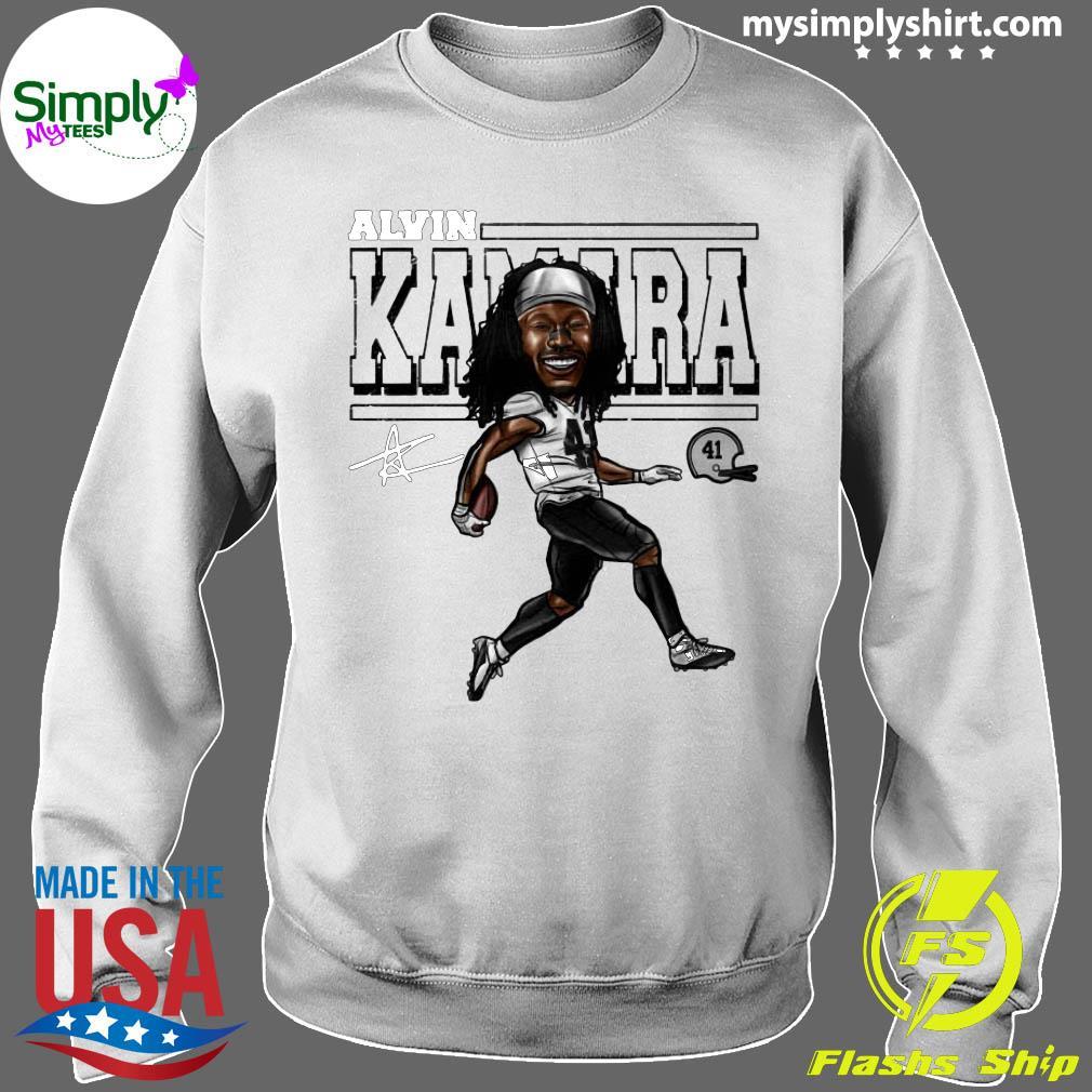 Alvin Kamara Cartoon New Orleans Football Signature Shirt Sweater