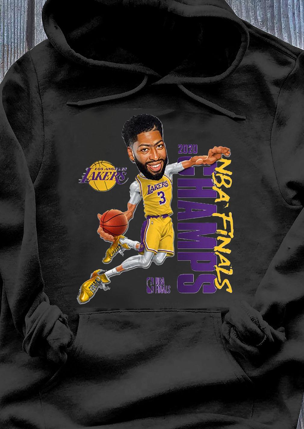 Anthony Davis LA Lakers Champions 2020 T-Shirt Hoodie
