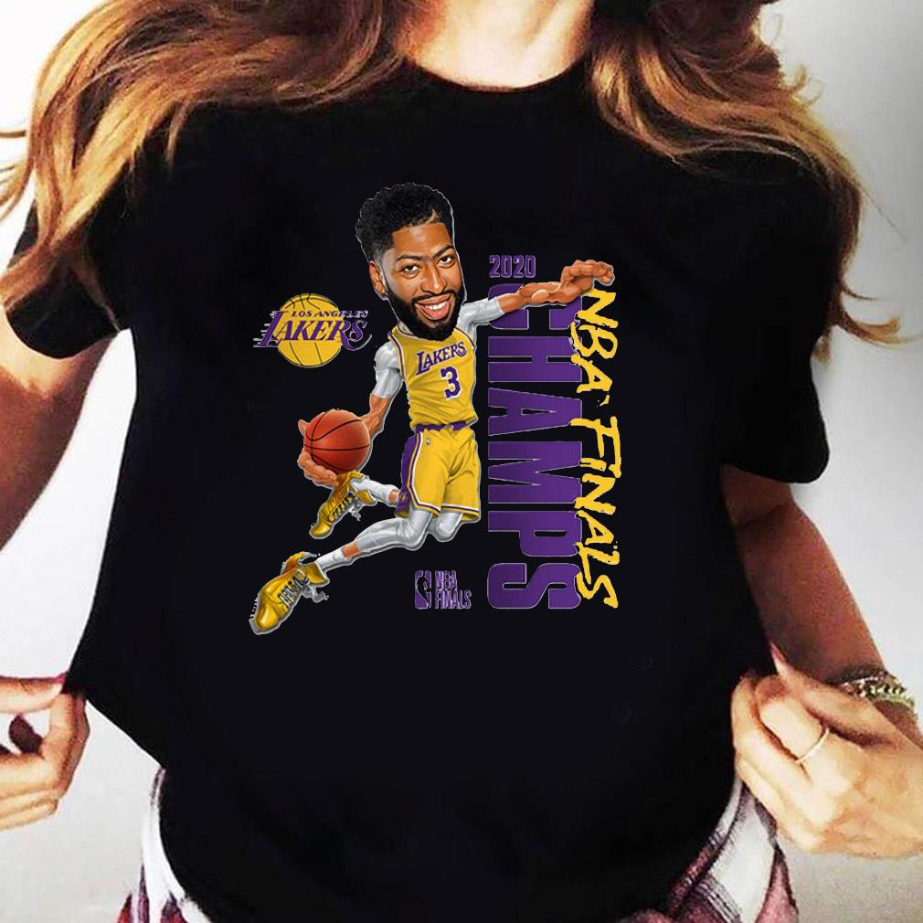 Anthony Davis LA Lakers Champions 2020 T-Shirt Ladies tee