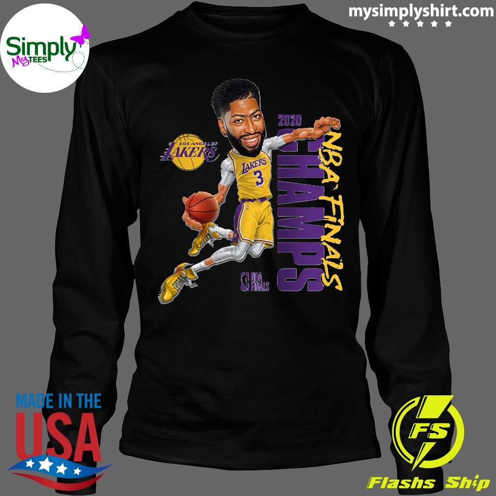 Anthony Davis LA Lakers Champions 2020 T-Shirt Longsleeve