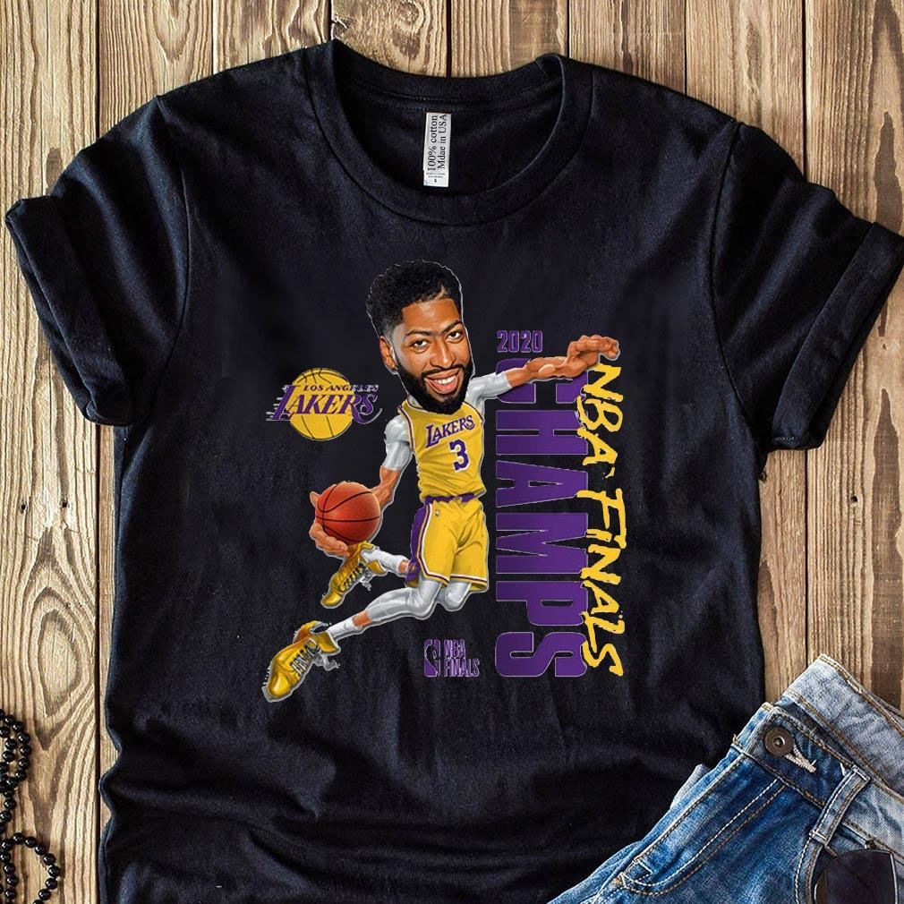Anthony Davis LA Lakers Champions 2020 T-Shirt