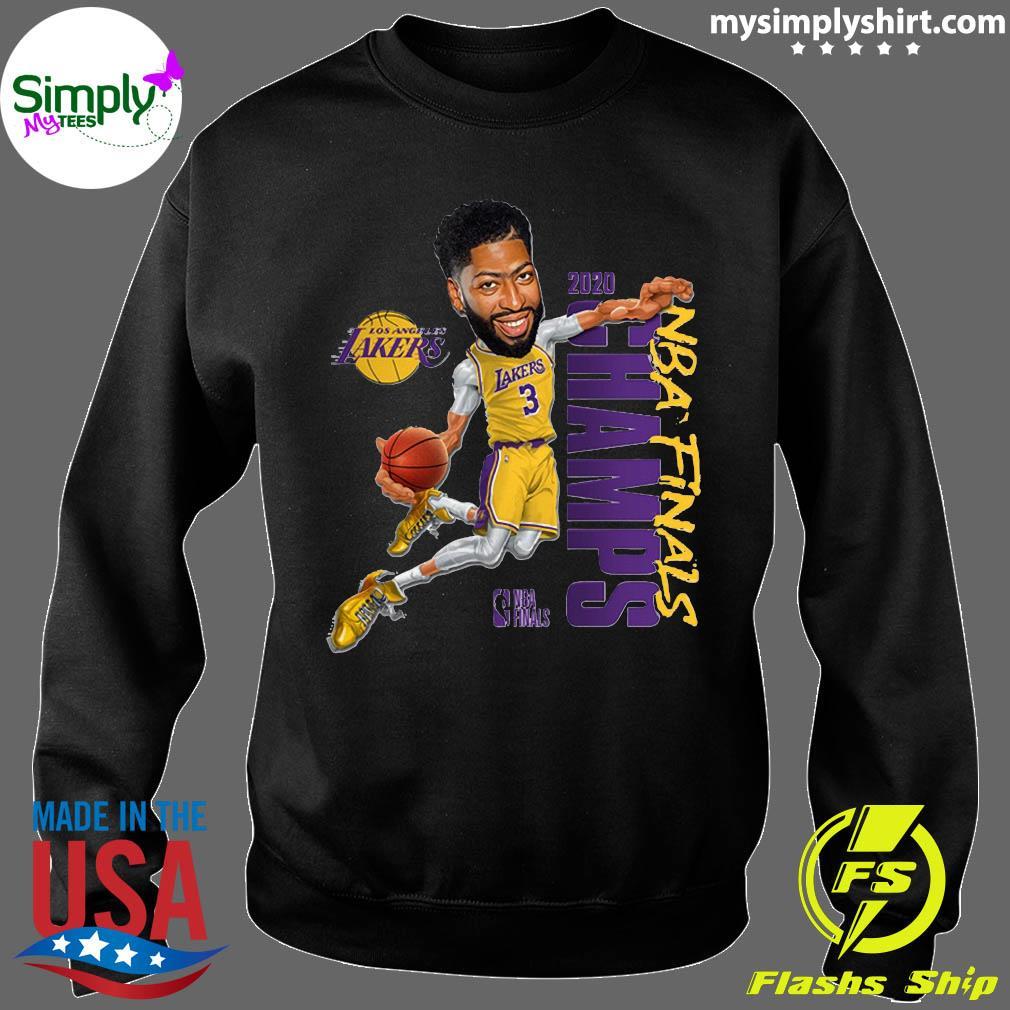 Anthony Davis LA Lakers Champions 2020 T-Shirt Sweater