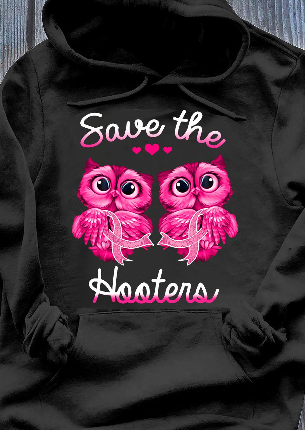 Breast Cancer awareness owls save the hooters shirtBreast Cancer Awareness Owls Save The Hooters Shirt Hoodie