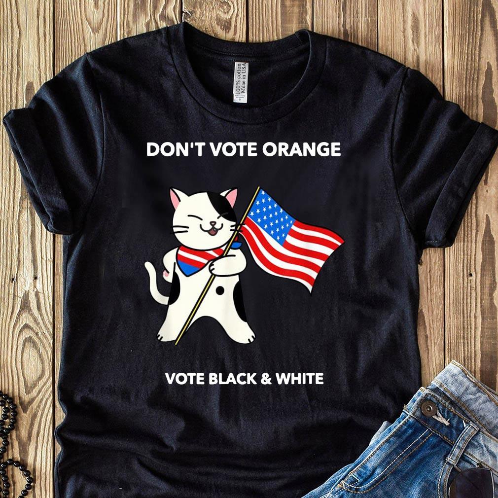 Cat President Don't Vote Orange No Trump Election 2020 Shirt