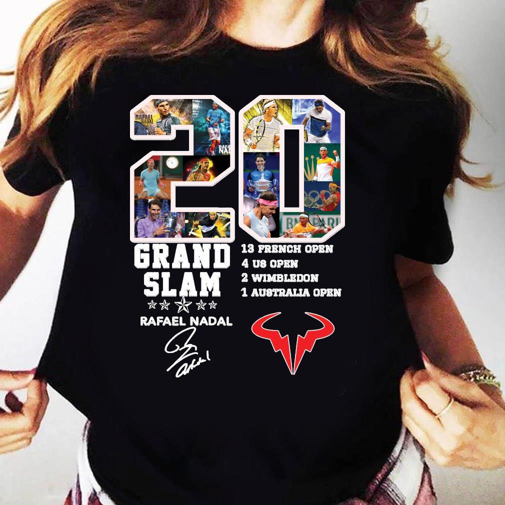 Champion 20 Grand Slam Rafael Nadal Signature T-Shirt Ladies tee