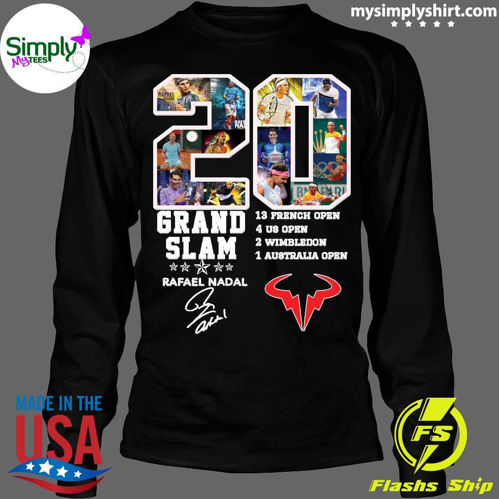 Champion 20 Grand Slam Rafael Nadal Signature T-Shirt Longsleeve