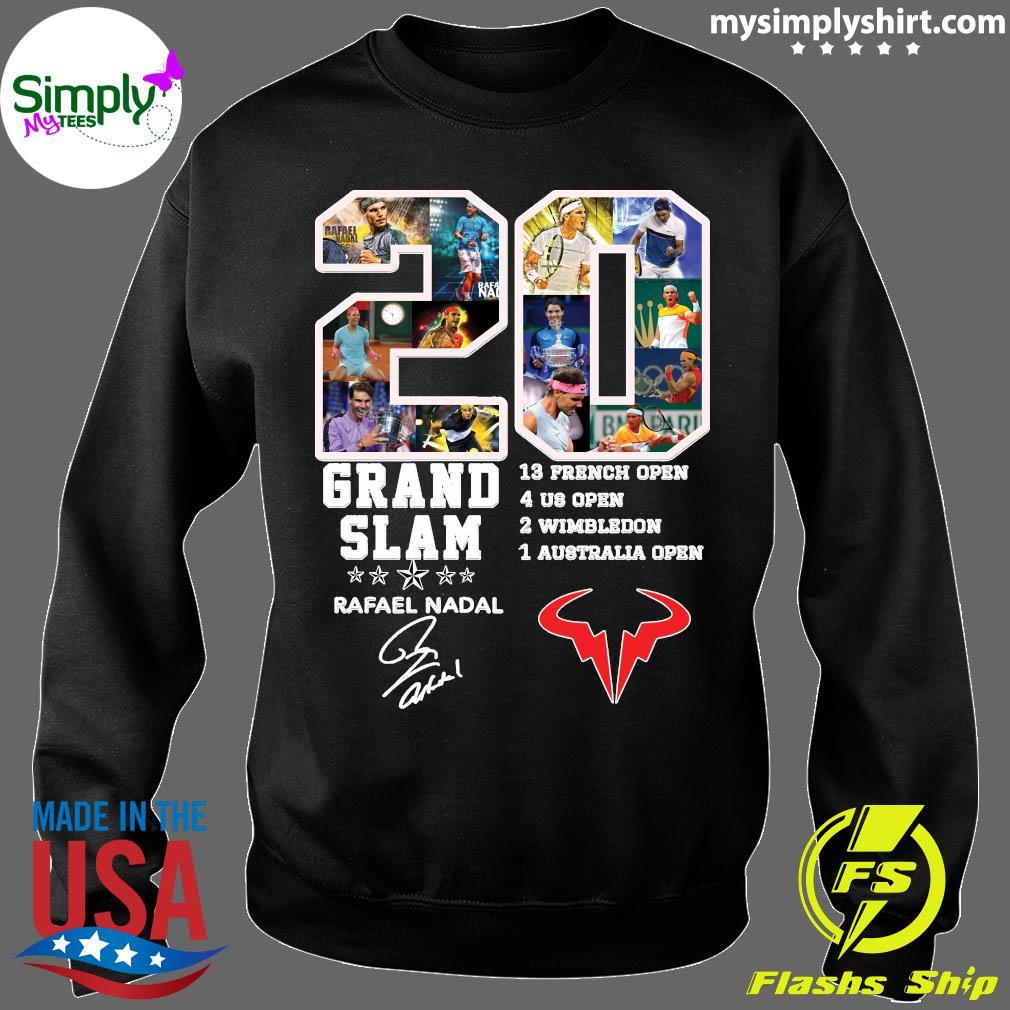 Champion 20 Grand Slam Rafael Nadal Signature T-Shirt Sweater