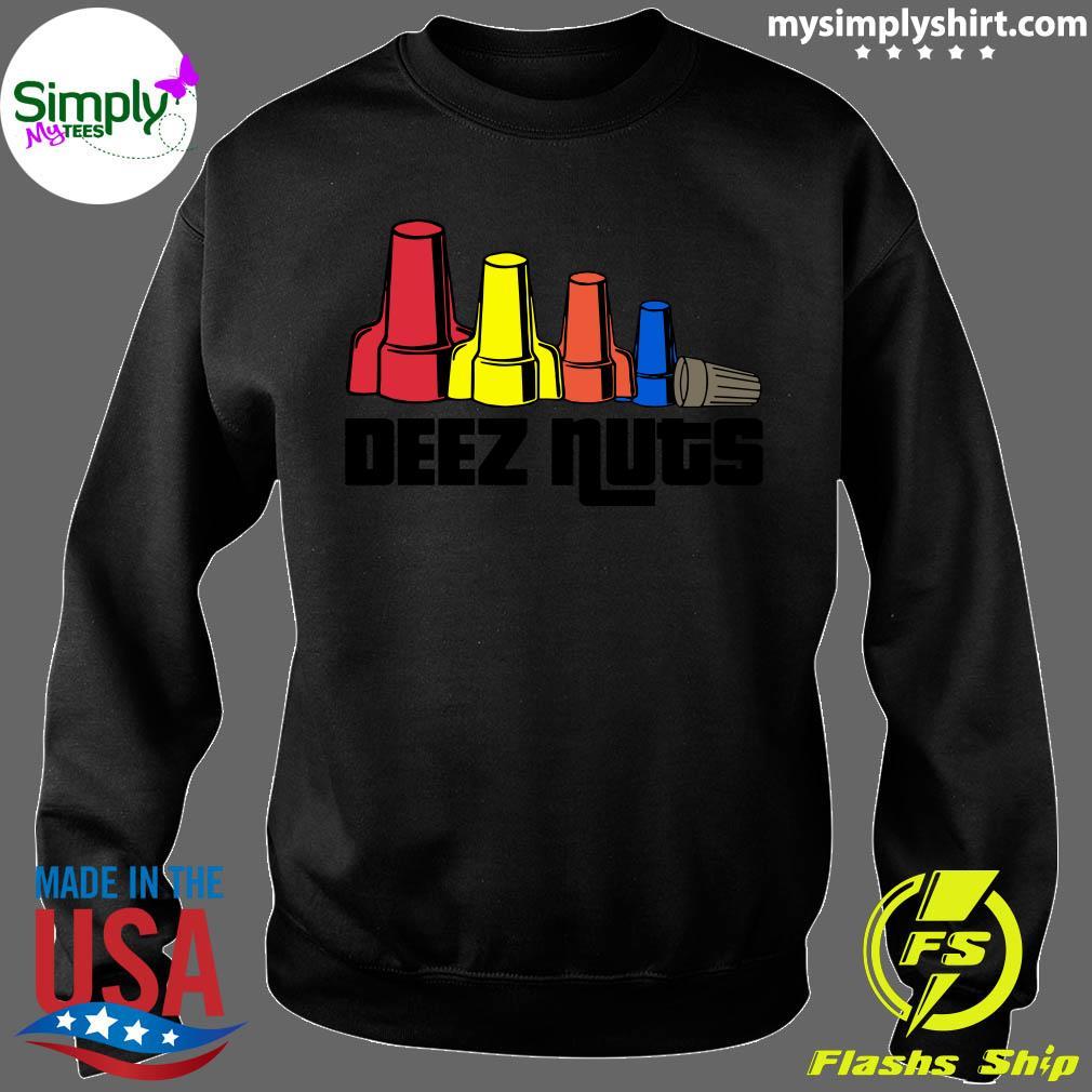 Deez Nuts Electrician Shirt Sweater