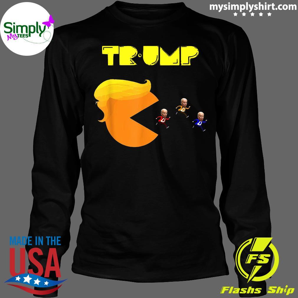 Donald Trump Biden Video Game Shirt Longsleeve