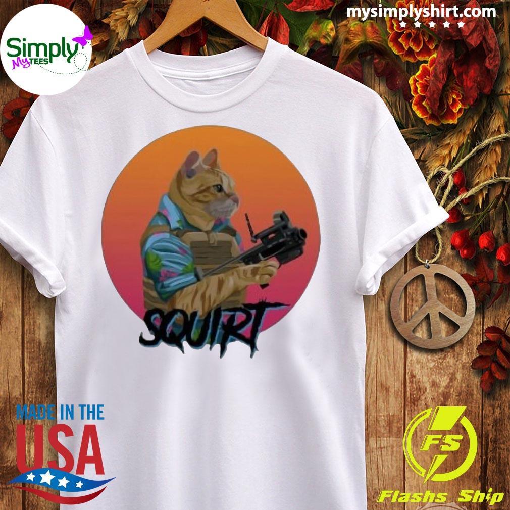 Donut Operator Cat T-Shirt Ladies tee